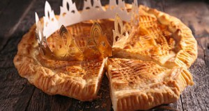 galette with crown