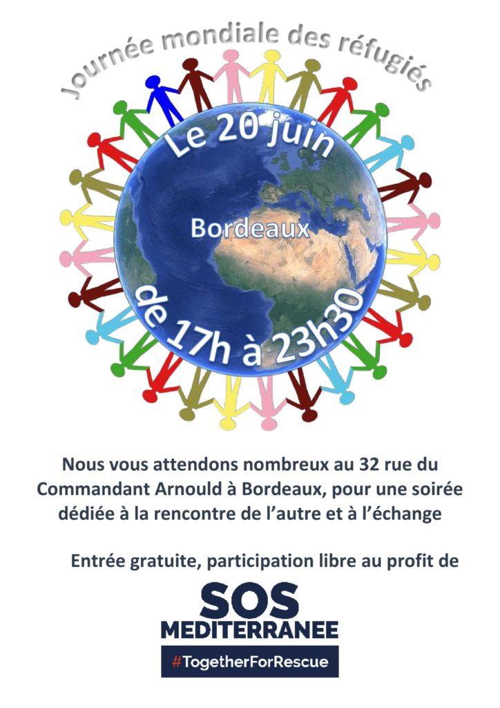 Programme Journée Mondiale des Réfugiés - Bordeaux - 2017-Recto