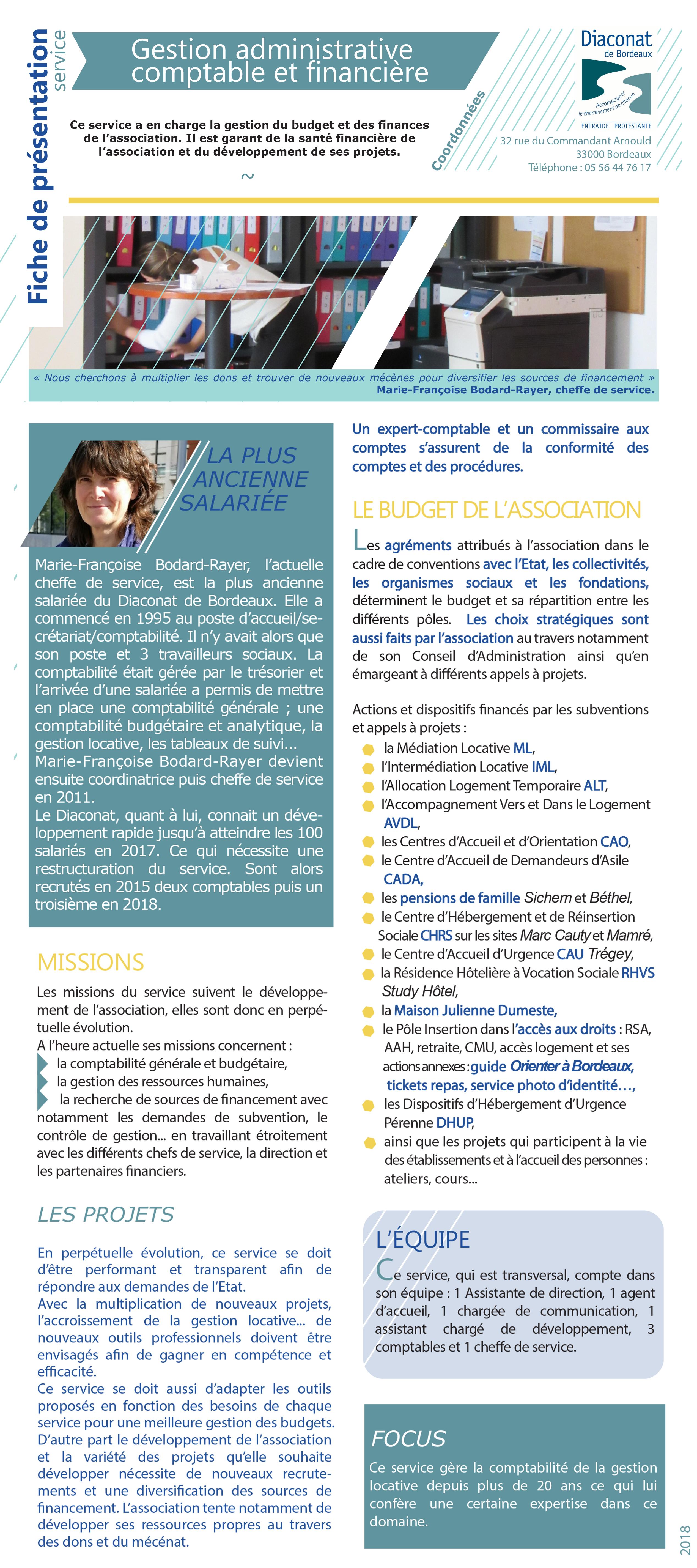 Gestion administrative comptable et financière